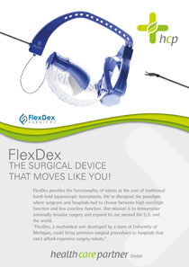 FLEXDEX - THE SURGICAL DEVICE THAT MOVES LIKE YOU!
